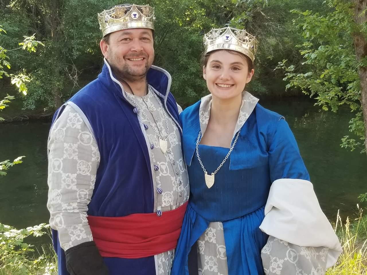 Prince Antoin and Princess Kathren